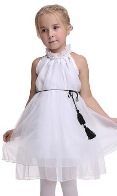 A Lovely Little Twist White Dress