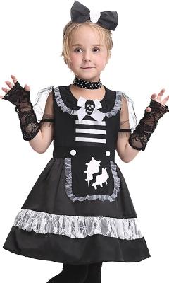 Black Lovely Mischievous Maid Costume