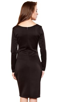 Call Me Baby Black Dress