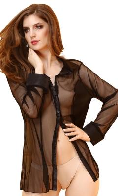 Chiffon Shirt Robe