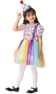 Clown Rainbow Costume