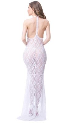 Dramatic Long Mesh Skirt Set