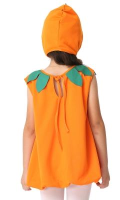 Exquisite Pumpkin Tank Dress