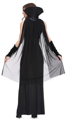 Fun Black Bodysuit Queen Of Darkness Costume