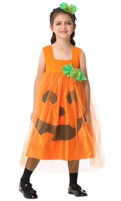Loose Pumpkin Tank Dress