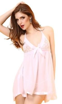 Pink Beauty Babydoll Set