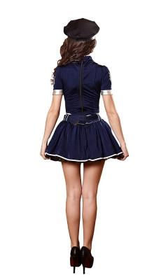 Sexy Cop Romper Costume